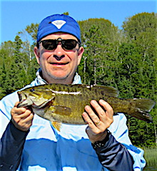 Multiple Trophy Smallmouth Bass Fishing at Fireside Lodge